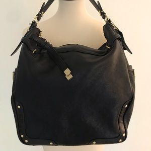 COACH Mixed Leather Hobo No. 18665